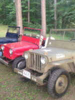 Marcus Steigerwaldt's 1946, 1947, 1948 Willys CJ-2As