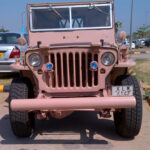 A Willys MB Preserved by the Desert