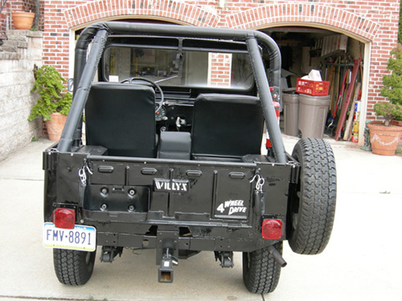 Peirce Eichelberger's 1958 Willys CJ-3B