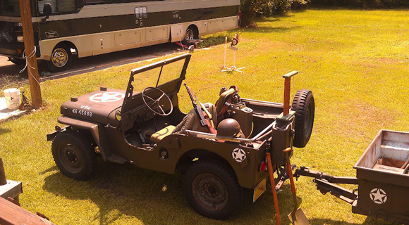 Kenny Hughes' 1946 Willys CJ-2A