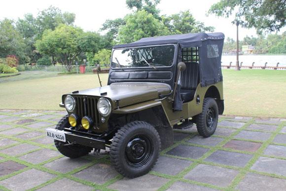Hafees Mattakompanal's 1950 Willys CJ-3A