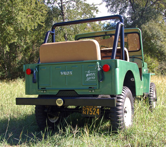 John Taylor's 1954 Willys CJ-3B