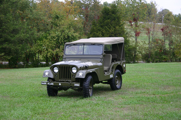 Shila Jones' 1955 Willys M38A1
