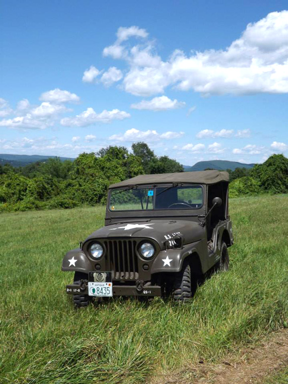 Paul Mercier's 1954 Willys M38A1