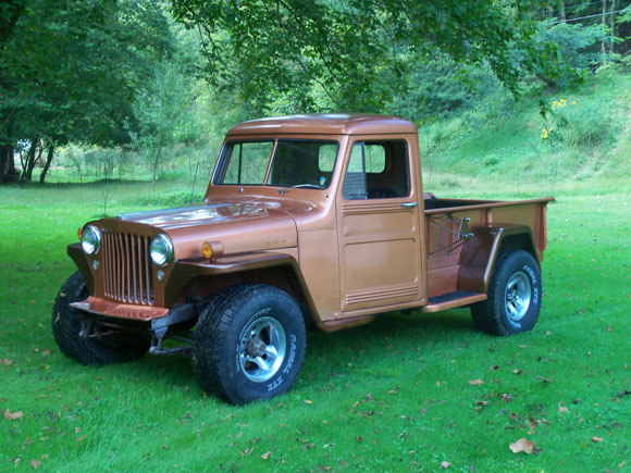 Susan Goodrich's 1948 Willys Truck