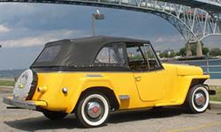 Al Eichenberg 1948 Willys Jeepster