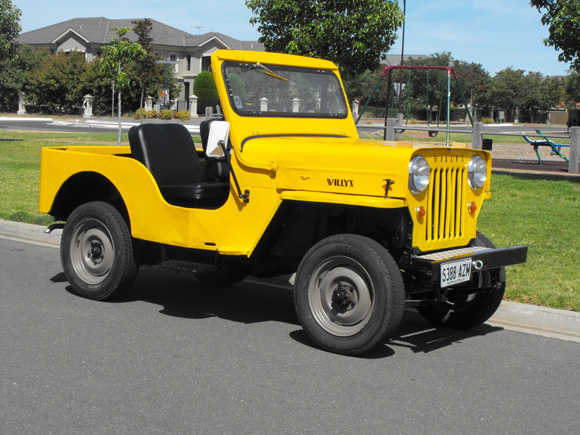 Peter Glasson's 1958 Willys CJ-3B