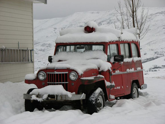 Alan Jacobus' 1962 Willys Station Wagon