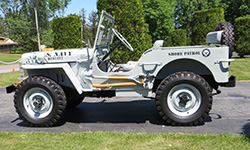 James Cooper - Willys Jeep