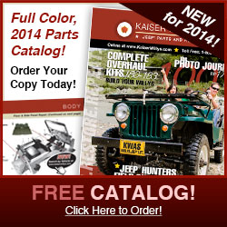 2014 Kaiser Willys Jeep Parts Catalog