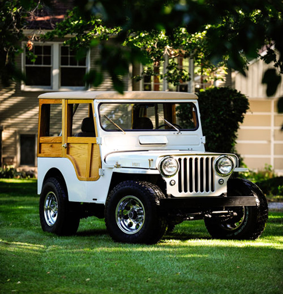 Robert Lund's 1951 Willys CJ-3A