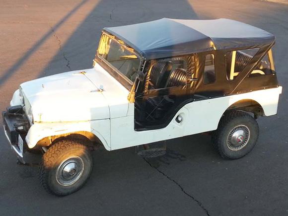 """Les Cole's 1965 CJ-6A """"Tuxedo Park"""""""
