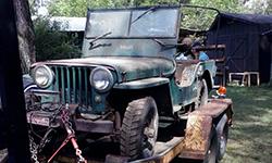 P. Dewitt - 1948 Willys CJ-2A