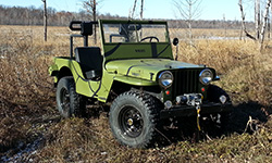 Spike Lambert - Willys CJ-2A