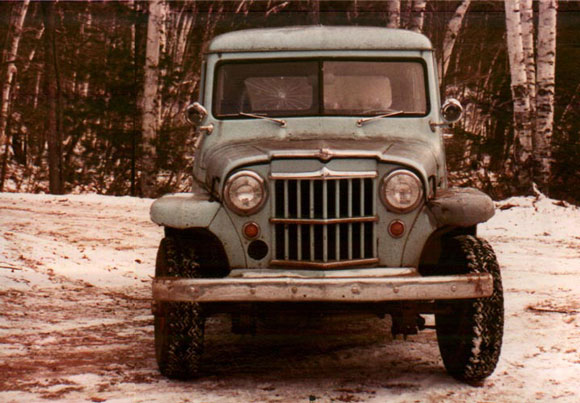 Bob Davis' 1957 Willys Station Wagon