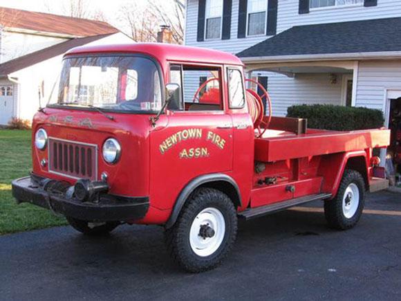The Newtown Willys Fc 170 Fire Truck Kaiser Willys Jeep Blog