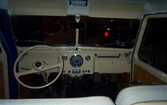 Bob Davis' 1957 Willys Station Wagon