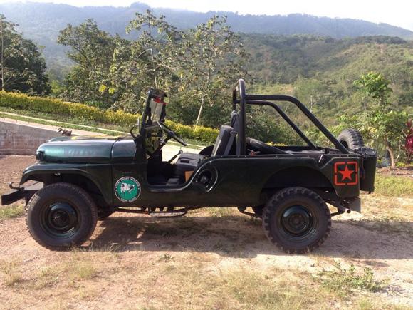 Carlos Rodriguez' 1964 Willys CJ-6