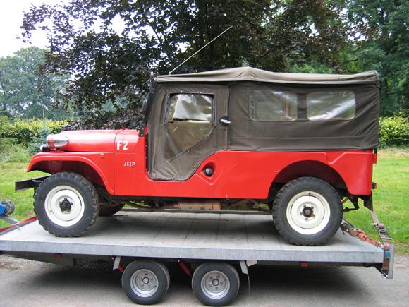 Christoph Buescher's 1967 CJ-6 Jeep