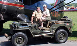 Gerry Boucher - 1945 Willys MB