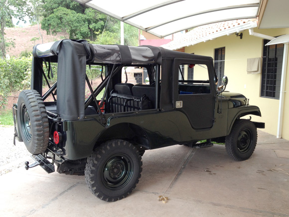 Carlos Rodriguez' 1964 Willys CJ-6