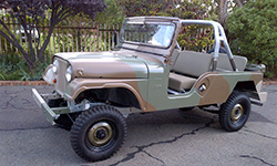 Riaan Niemann - 1958 Willys CJ-6