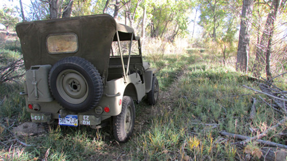 Cora Simpich 1942 Willys MB Slat Grille