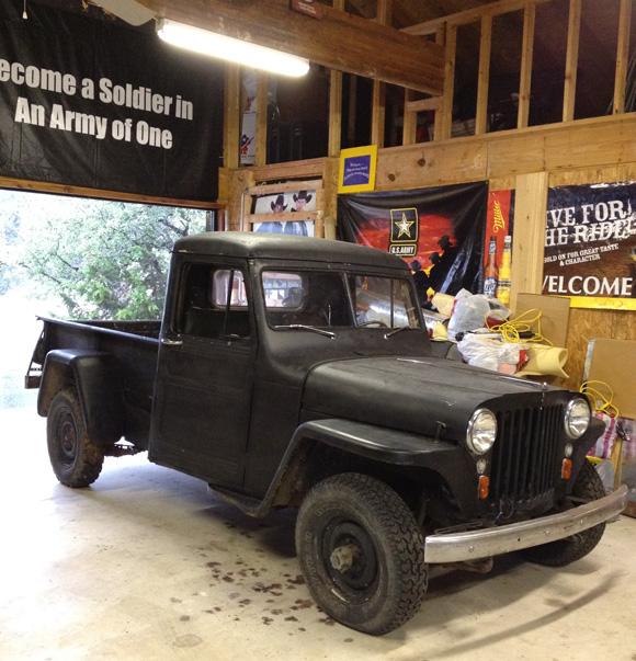 Ron Benton's 1948 Willys Truck