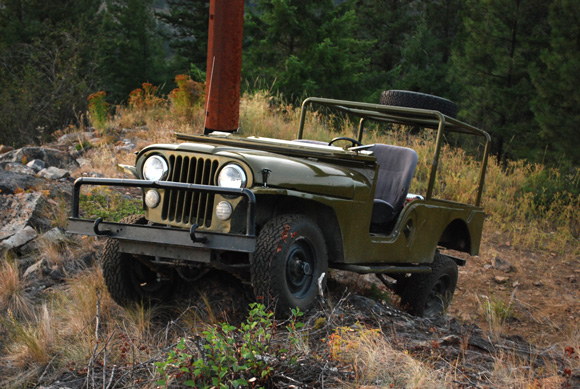 Stuart Brown's 1964 CJ-6