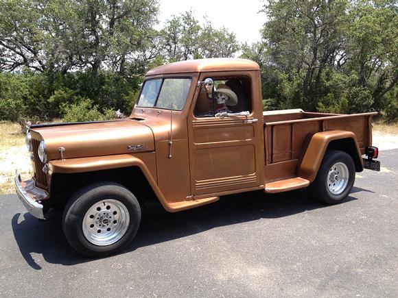 Ron Benton's 1949 Willys Truck