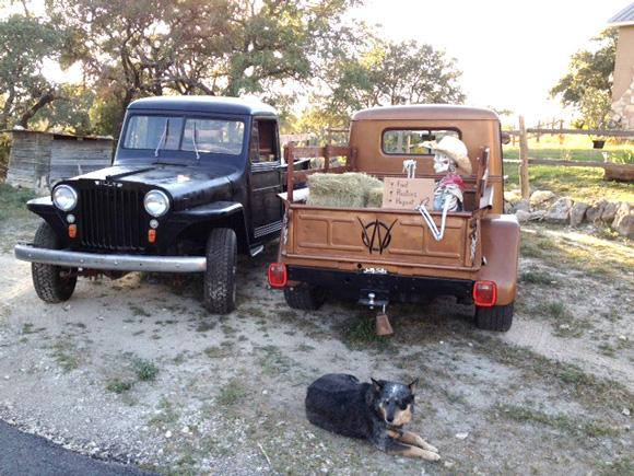 Ron Benton's 1948 and 1949 Willys Trucks