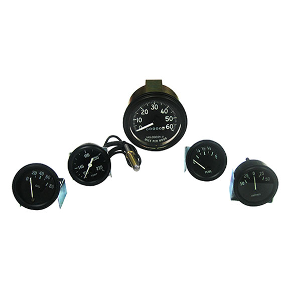 640766 - Image, Complete Speedometer Assembly and Gauge Kit