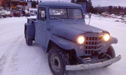 Brandon Rickard - 1953 Willys Truck
