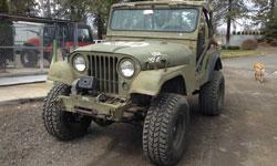 Brittany Jacobsen - 1953 Willys M38A1