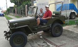 Denar Flores - Willys CJ-3B