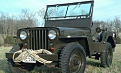 Joey Drennon - 1946 Willys CJ-2A