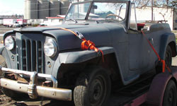 Randi Seaman - 1950 Willys Jeepster