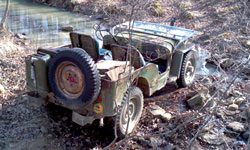 Thompson Speir - 1952 Willys M38
