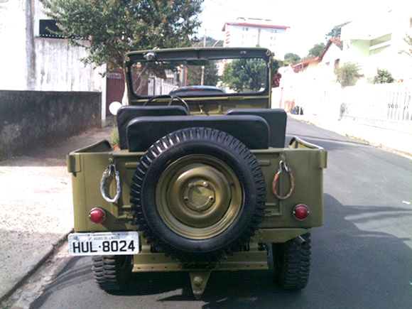 Josue Barbosa Conti's 1950 Willys CJ-3A