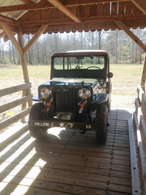 Nathaniel Webb's Willys CJ-3B