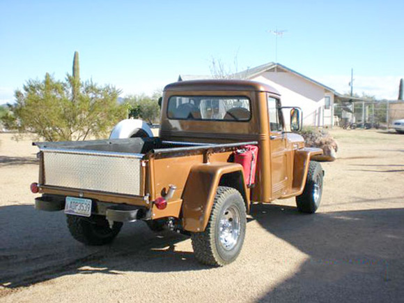 Gordy Santeford's 1956 Willys Truck
