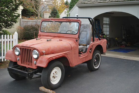Ed Kelly's 1955 Willys CJ-5