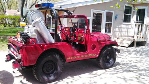 David Walker's 1952 Willys M38A1