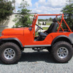 A Willys Jeep Far From Traditional