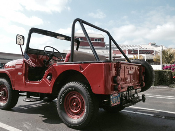 Justin Hurtado's 1959 Willys CJ-5
