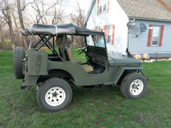 Thomas Shipps' 1946 Willys CJ-2A