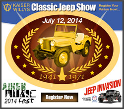 Classic Jeep Show at Aiken Music Fest