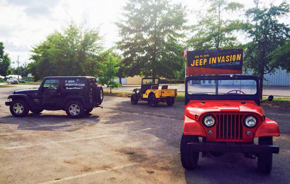 Kaiser Willys Classic Jeep Show and Jeep Invasion at Aiken Music Fest