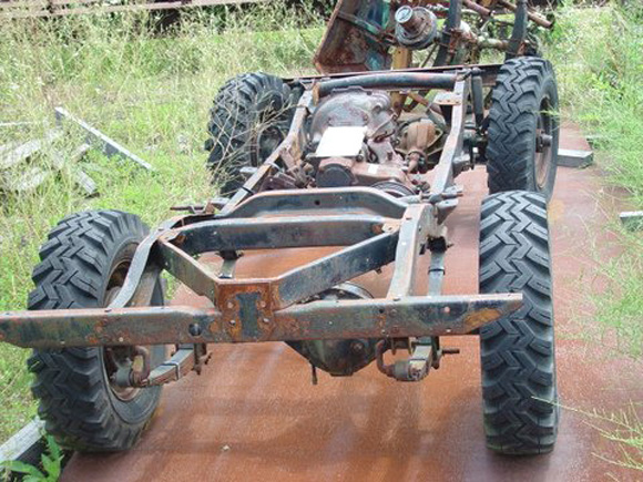 Tim Smith's Willys CJ-2A