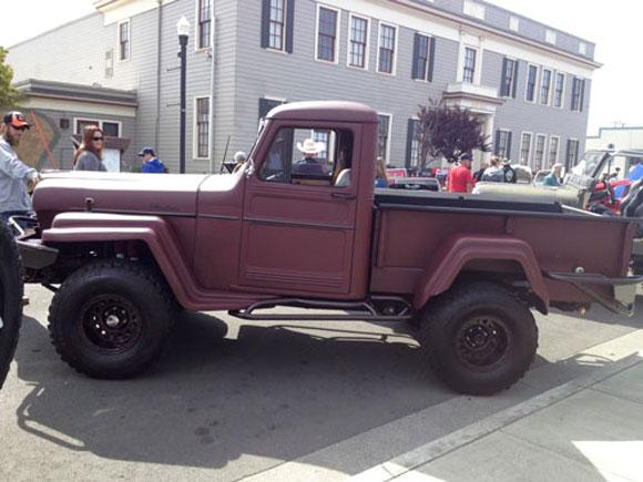 Den Caster's 1960 Willys Truck